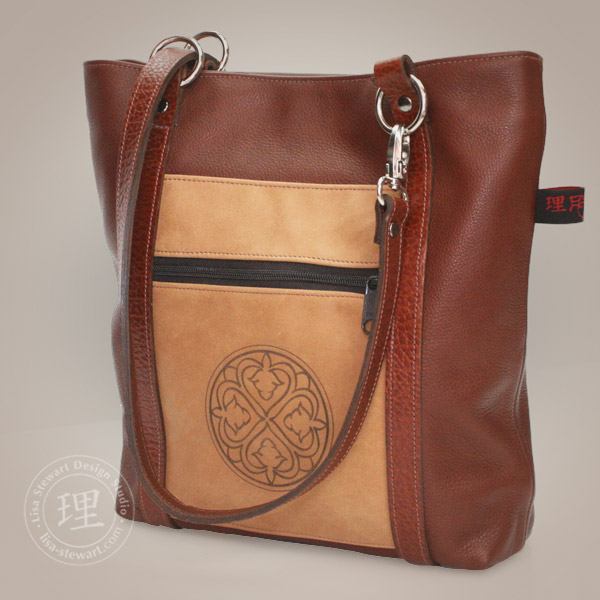 Handcrafted Leather BostonConvertible Handbag